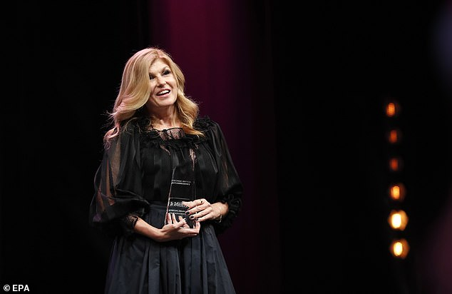 Accolade:Britton is the recipient of the festival's 2021 Variety Icon award