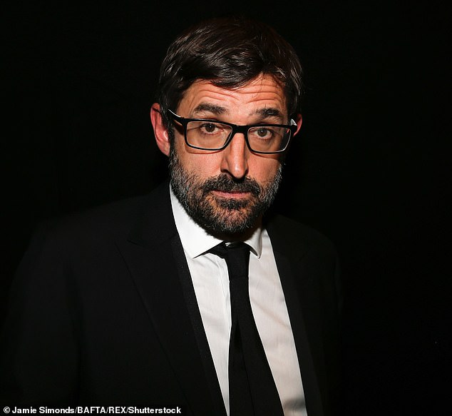 Speaking out:The lockdown PE teacher spent 15 days filming BBC show Joe Wicks: Mental Health, My Family and Me with filmmaker Louis Theroux (pictured)