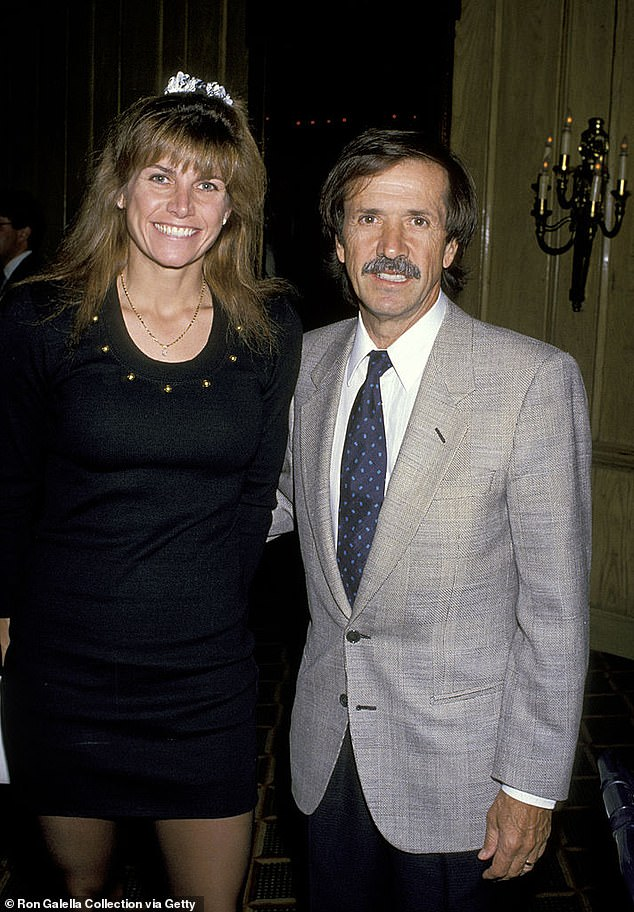 After they split, Sonny married another two times, tying the knot with fourth and final wife Mary Whitaker in 1986. The couple are pictured in 1989
