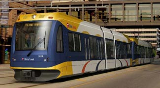 """The Metropolitan Council voted to spend $153.2 million for 41 """"low-floor light rail vehicles"""" from the Sacramento, Calif.-based Siemens Transportation Systems, Inc. (Submitted photo)"""