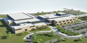 A devastating tornado destroyed Wadena Deer Creek High School last year, so the district fast-tracked construction of a new school incorporating grades five through 12 in a new 174,000-square-foot building.