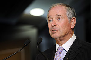 CEO Steve Schwarzman says Blackstone plans to hold onto its rental homes for years to take advantage of rising prices amid an expected shortage of housing following years of underproduction of new residences. (Bloomberg News file photo)