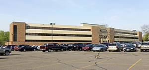 Country Life Insurance Co. has sold its five-story regional office at 2 Pine Tree Drive in Arden Hills to a donor of Bethel University, who is leasing space to the university and Country Life. (Submitted photo: CoStar)