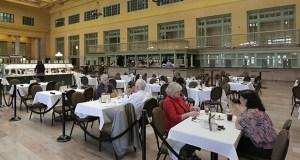 A new restaurant and bicycle center could open in St. Paul's Union Depot later this year, representatives said Monday. Christos Greek Restaurant is currently the only retail tenant in the building. (File photo: Bill Klotz)