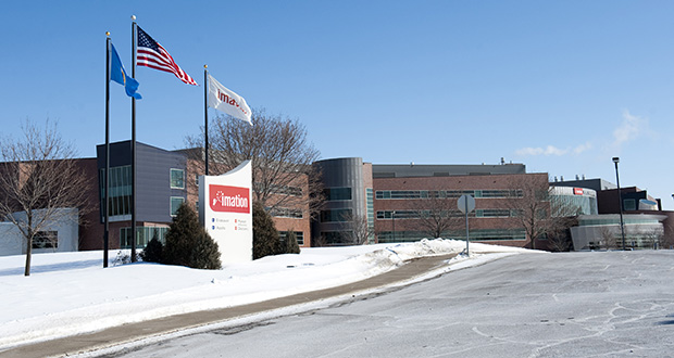 The Imation Corp. campus is at 1 Imation Place in Oakdale, in the northeast quadrant of Interstate 694 and Highway 5. (Photo: Craig Lassig)