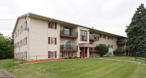 In one of the first apartment deals of 2014, Sela Investments paid $11.4 million for the 152-unit Westwood Gardens apartment complex in its hometown of St. Louis Park. The property includes three buildings at 2525 Nevada Ave. S. and 7307 and 7316 Cedar Lake Road. (Submitted photo: CoStar Group)