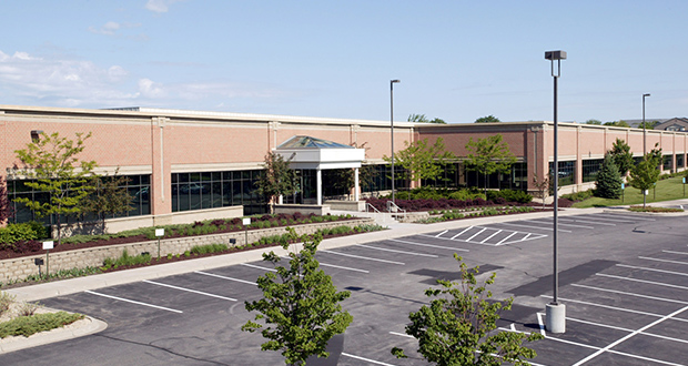 The Hampshire Technology Center, at 10900 Hampshire Ave. S. in Bloomington, is about 70 percent vacant. The 114,000-square-foot building was constructed in 1998. (Submitted photo: CoStar Group)