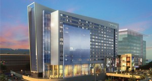 The $320 million expansion to the Mall of America will include a 342-room hotel branded as a JW Marriott. (Submitted rendering: DLR Group/Mall of America)