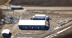 Minnesota Pipe Line Co. wants to build six new pump stations to support an existing oil pipeline in Minnesota, much like this existing station in Albany, Minn. (Submitted photo)