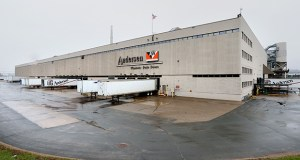 Andersen Corp. is receiving $625,000 from the Minnesota Job Creation Fund to help with an $18 million expansion at its Bayport plant that is expected to add 100 jobs. (Staff photo: Bill Klotz)