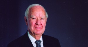 """Gerald Rauenhorst, who died last week at age 86, is being remembered by industry peers as a humble man who built a development empire from scratch. """"He was an engineer, a construction executive, and a real estate developer all rolled into one and that is what Opus became,"""" said Tim Murnane, president and CEO of Opus Holding LLC. (Submitted photo)"""