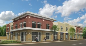Construction is slated to begin soon on this Goodwill-Easter Seals Minnesota building at 1221 W. University Ave. in St. Paul. The two-story building will include a retail store, donation center and offices. (Submitted rendering: DJR Architecture Inc.)