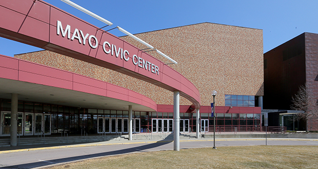 The proposed Rochester Mayo Civic Center expansion received $35 million in state money as part of a nearly $1 billion funding package approved Friday by legislators. (File photo: Bill Klotz)