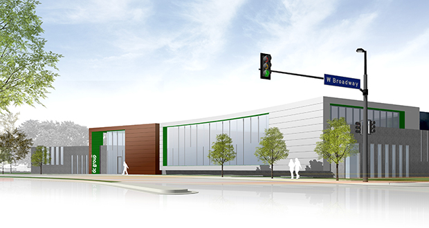 Minneapolis-based DC Group plans to spend $7.3 million to renovate its 26,000-square-foot headquarters at 1977 W. River Road in Minneapolis. (Submitted rendering)