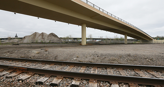 A planned Van White Memorial Boulevard light rail station would be among eight stations on the 15.8 mile line located in areas with greater racial and ethnic minorities than the Twin Cities as a whole. (Staff photo: Bill Klotz)