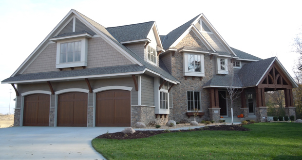 The owners of this home at 5410 Shenandoah Lane N. in Plymouth bought it from the builder after relocating here in 2011 and sold it for $1.075 million when they made another relocation earlier this year. (Submitted photo: Creek Hill Custom)