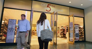 The Saks Off Fifth store, at 651 Nicollet Mall in Minneapolis, will close in January. (Staff photo: Bill Klotz)