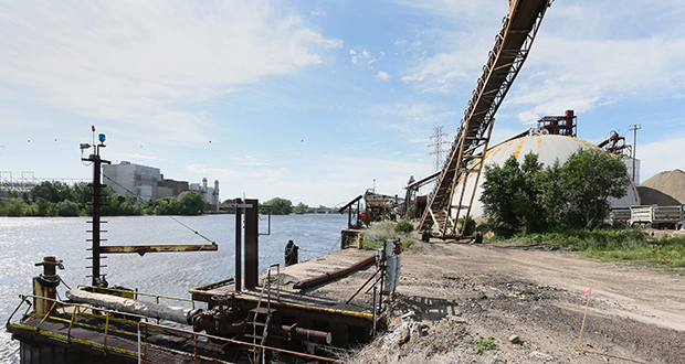 The Upper Harbor Terminal is scheduled to close Dec. 31 in the wake of several money-losing years, but some fear steep site-preparation costs and other challenges could delay redevelopment for years. (Staff photo: Bill Klotz)