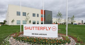 A new 217,622-square-foot building at 5005 Dean Lakes Blvd. in Shakopee, to be occupied by Shutterfly, was sold by Minneapolis-based Ryan Cos. US Inc. in June. The company is about to develop the last available parcel in its Dean Lakes Business Park. (File photo: Bill Klotz)