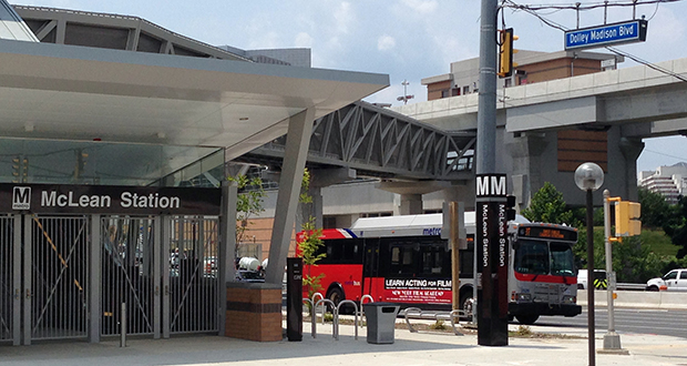 The McLean station of Metro's Silver Line in McLean, Virginia. The $2.9 billion extension will open Saturday to passengers after decades of planning and questions about whether the project was worthwhile. (AP photo)