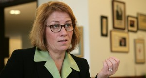 "House Majority Leader Erin Murphy said the business community's worries are overblown. ""I think this debate recycles every time we have a conversation about the minimum wage, and I think every time it's proven false,"" she said. (File photo)"