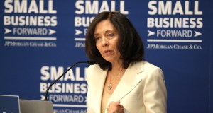Sen. Maria Cantwell, D-Washington, chairs the Senate Small Business & Entrepreneurship Committee. (AP photo: Invision for JPMorgan Chase & Co.)