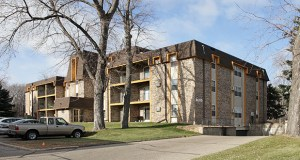 The Cedar Commons Apartments, at 8600 Old Cedar Ave. in Bloomington, were built in 1967. (Submitted photo: CoStar Group)