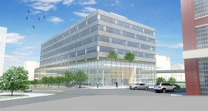 The building, at 524 N. Fifth St., is already under construction. (File rendering)