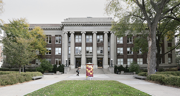 The University of Minnesota is seeking construction manager bids for the $92.5 million makeover at the Tate Lab of Physics. (File photo)