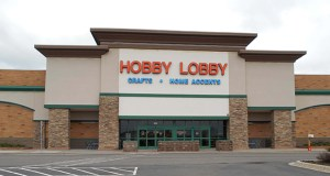 This former sporting goods store at 9895 Hudson Place was one of the last junior box vacancies left in the busy Woodbury market when Hobby Lobby came looking for space in late 2013. With a solid tenant, the lender-owned building has sold for $4.77 million. (Submitted photo: CoStar)