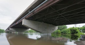 Design work for a new Interstate-35W Minnesota River crossing is receiving $5.5 million from the state's Corridors of Commerce program. The bridge spans the river between Bloomington and Burnsville. (File photo: Bill Klotz)