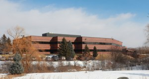 The building at 4700 Nathan Lane in fully leased to Alliant Techsystems, or ATK. The 34-year-old building was purchased this week for $43 million. (Submitted photo: CoStar Group)