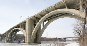 Hennepin County is paying more than expected to rehab the Franklin Avenue Bridge in Minneapolis. The project is scheduled to begin this spring. (File photo: Bill Klotz)