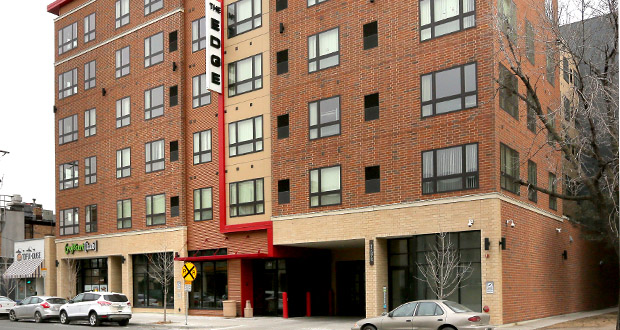 The Edge On Oak is one of the four student apartment buildings Doran Cos. has sold. (Staff photo: Bill Klotz)
