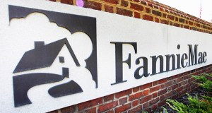 This Aug. 8, 2011, file photo shows the Fannie Mae headquarters in Washington. Fannie Mae reported Friday that its fourth-quarter net income was $1.3 billion. (AP File Photo)