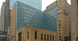 The downtown Minneapolis Westin is in the former F&M Bank building at 88 Sixth St. S. The 214-room property sold for $66.4 million. (Photo: CoStar Group)