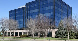 The six-story Gateway Office Plaza, at 350 Burnsville Parkway W., was built in 1999. The building sold in January for $9.25 million, according to public records. (Staff photo: Bill Klotz)