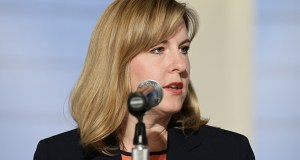 """Rep. Melissa Hortman, DFL-Brooklyn Center, accused committee chair Pat Garofalo of trying to """"eliminate 30 years of conservation legislation."""" (File photo)"""