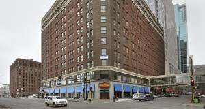 The 12-story Plymouth Building, at 12 S. Sixth St. in downtown Minneapolis, will be converted into a hotel. (File photo: Bill Klotz)