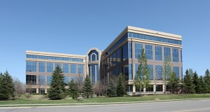 The 190,758-square-foot Golden Hills Office Center, at 701 Xenia Ave. S. in Golden Valley, was one of at least 21 Minnesota office buildings sold this week by Investors Real Estate Trust. (Submitted photo: CoStar)