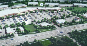 Tri-Land Properties proposes a new 45,500-square-foot Cub Foods store to anchor the redeveloped Oak Park Plaza, on the southeast quadrant of University Avenue and 109th Avenue Northeast in Blaine. (Submitted rendering)