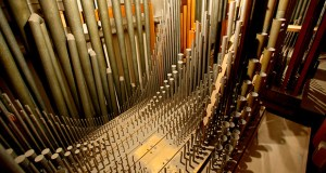 The University of Minnesota has hired a Connecticut-based company to restore and reinstall its rare Aeolian-Skinner organ in the Northrop auditorium, an instrument with nearly 7,000 pipes ranging from 32 feet in height to the size of a pencil. (Submitted image: University of Minnesota)