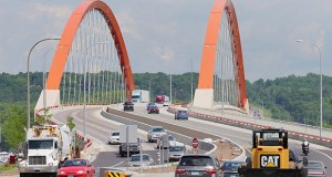 The Minnesota Department of Transportation has made roughly $2.49 million worth of interim payments to contractors on the Highway 61 Hastings bridge project since the state government shutdown in 2011. (File photo: Bill Klotz)