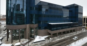 The former American Express data center, at 1001 Third Ave. S. in downtown Minneapolis, was sold in January for $22.4 million to Dallas-based DCI Technology Holdings. (File photo: Bill Klotz)
