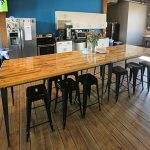 Among the amenities at COCO's new Northeast location is a kitchen and eating area. (Staff photo: Bill Klotz)
