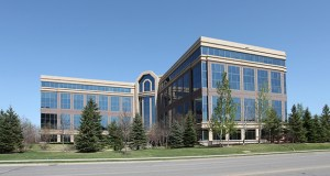 The 190,758-square-foot Golden Hills Office Center, at 701 Xenia Ave. S. in Golden Valley, was among least 21 Minnesota office buildings sold by Investors Real Estate Trust. (Submitted photo: CoStar)