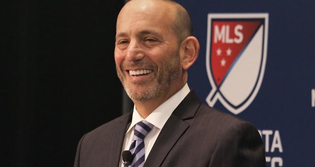 Major League Soccer Commissioner Don Garber. (File photo: Bill Klotz)