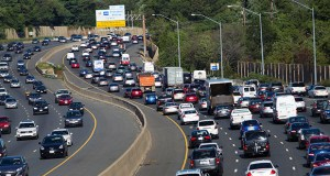 Traffic crawls along the Capital Beltway during rush hour, in Greenbelt, Maryland., Tuesday, Aug. 25, 2015. Traffic congestion nationally reached a new peak last year and is greater than ever before, according to a report by the Texas A&M Transportation Institute and INRIX Inc. (AP Photo: Jose Luis Magana)