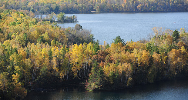 Legislators visited the Cuyuna Country State Recreation Area, where officials have requested $4.2 million in bonding to expand the area's outdoor offerings. (AP file photo: Brainerd Dispatch)