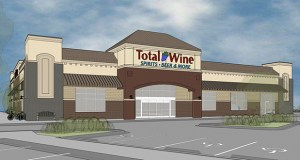 Maryland-based Total Wine expects to open this 19,909-square-foot liquor store next summer in the Village on the Ponds development in Chanhassen. (Submitted photo: Tushie Montgomery Architects)